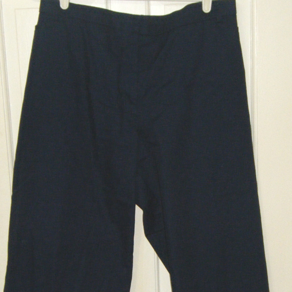 George Pants - Navy Blue Crop Pants 26W